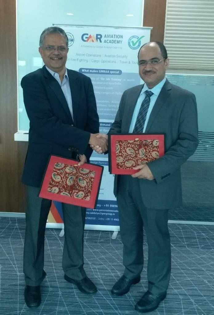 GMR Aviation Academy (GMRAA), signed a Strategic Alliance Agreement with GAA