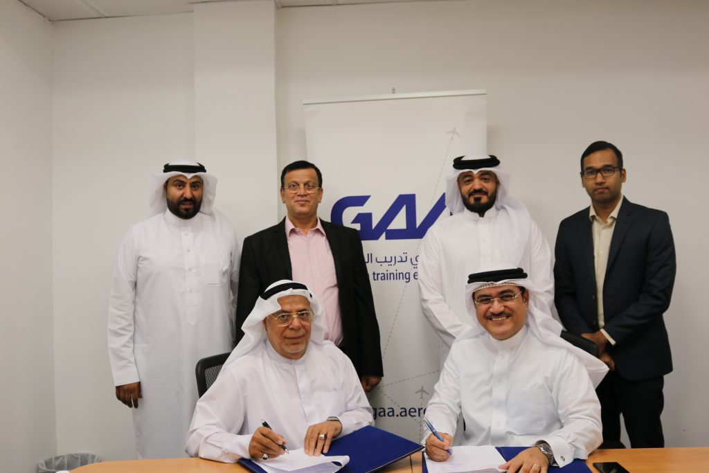 Gulf Aviation Academy and AADT Sign Simulated Truck-Driving Training Agreement