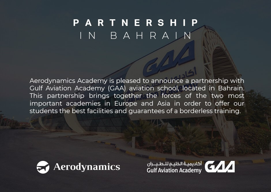 GAA ENTERS INTO A JOINT AB-INITIO PROGRAM PARTNERING WITH AERODYNAMICS ACADEMY IN MALAGA, SPAIN